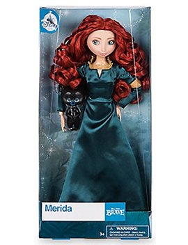 Disney Store 12 Merida Classic Doll With Bear By Disney by Disney