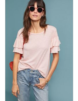 Sappho Ruffled Top by T.La