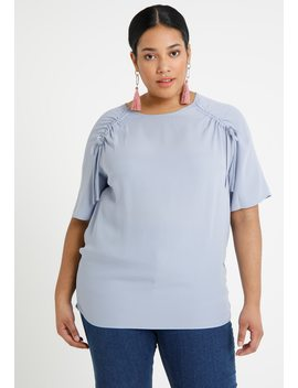 Bubble Hem Blouse   Bluser by Simply Be