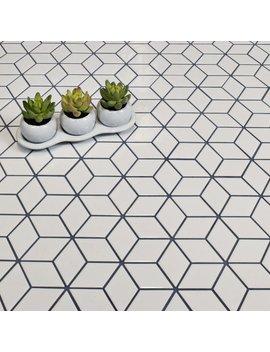 Elite Tile Retro Rhombus 1.88 X 3.18 Porcelain Mosaic Tile In Glossy White & Reviews by Elite Tile