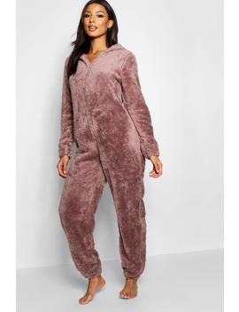 Snuggle Bear Onesie by Boohoo