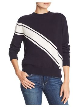 Spiral Striped Sweater by The Fifth Label