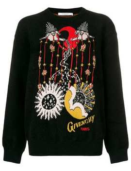 Libra Intarsia Knit Sweater by Givenchy
