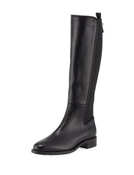 Nastia Tall Leather Riding Boots by Aquatalia