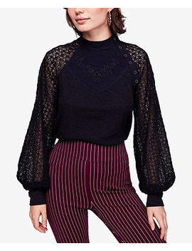 Juniors' Sweetest Thing Mixed Material Top by Free People