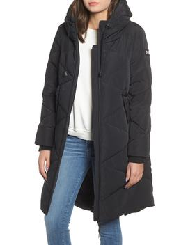 Water Repellent Hooded Down Coat by Nvlt