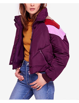 Heidi Chevron Ski Puffer Jacket by Free People