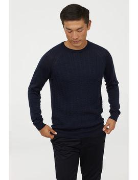 Jersey De Punto Con Merino by H&M
