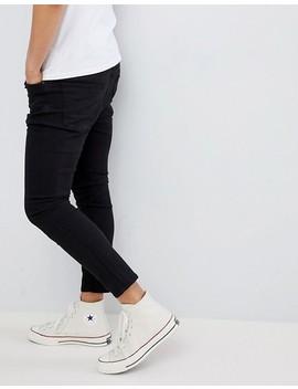 Pull&Bear   Smaltoelopende Jeans In Zwart by Asos