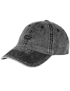 Men's Twill Enzyme Washed Baseball Cap by Levi's