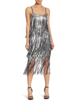Roxy Fringe Shift Dress by Dress The Population