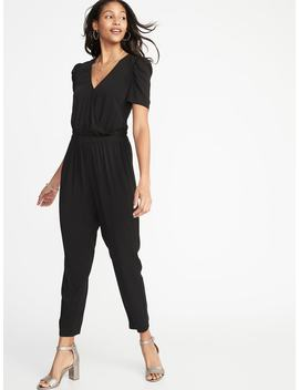 Waist Defined Jumpsuit For Women by Old Navy