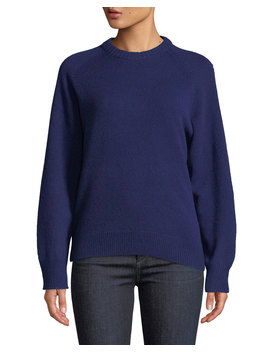 Crewneck Cashmere Pullover Sweatshirt by Theory
