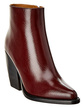 Chloé Rylee Leather Ankle Boot by Chloe