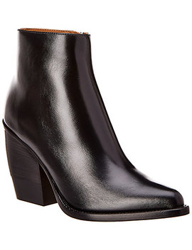 Chloé Rylee Leather Low Ankle Boot by Chloe