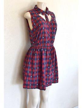 Element Women's Wichita Dress   Red Sz M by Rvca