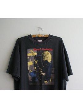 Kurt Cobain Vintage T Shirt, 90s Kurt Cobain T Shirt, Rare Vintage Nirvana T Shirt, Vintage Band T Shirt, Rare Cobain T Shirt Poland, by Etsy