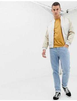 Burton Menswear – Guldbrun T Shirt Med Rund Halsringning by Asos