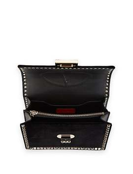 No Limit Rockstud Small Velvet Shoulder Bag by Valentino Garavani