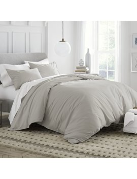 Under The Canopy 100 Percents Organic Cotton Reversible Duvet Cover Cover Set & Reviews by Under The Canopy