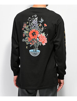 Primitive Memento Black Long Sleeve T Shirt by Primitive