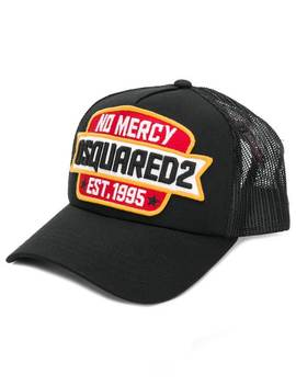 No Mercy Patch Baseball Cap by Dsquared2