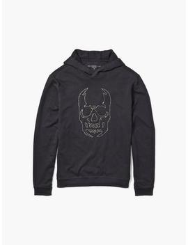 Chain Skull Hoodie by John Varvatos
