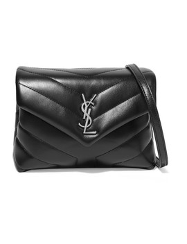 Loulou Toy Quilted Leather Shoulder Bag by Saint Laurent