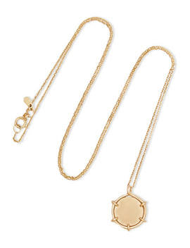 Coin 9 Karat Gold Necklace by Sarah & Sebastian