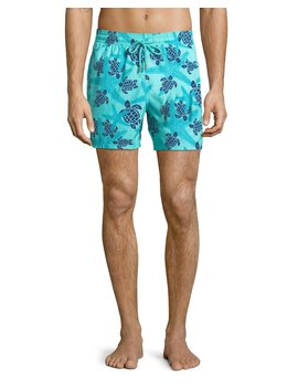 Moorea Starlettes Turtles Swim Trunks by Vilebrequin