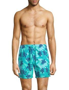 Starlettes Turtle Swim Shorts by Vilebrequin