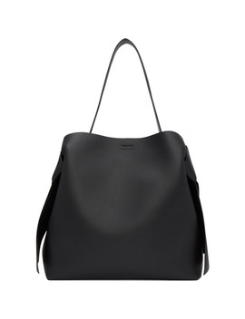 Black Musubi Maxi Bag by Acne Studios