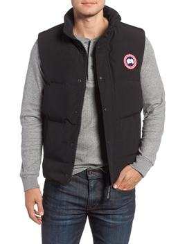 Garson Regular Fit Quilted Down Vest by Canada Goose
