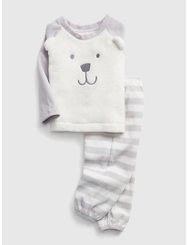 Cozy Bear Pj Set by Gap