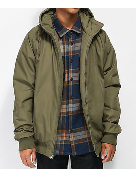 Volcom Hernan Green Bomber Jacket by Volcom