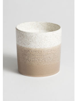 Tachisme Pepper Scented Candle by & Other Stories