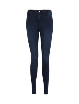 Blue Black 'frankie' Super Skinny Jeans by Dorothy Perkins