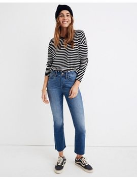 Cali Demi Boot Jeans In Kemper Wash: Back Seam Edition by Madewell