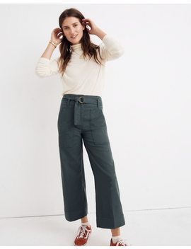 Utility Wide Leg Pants by Madewell