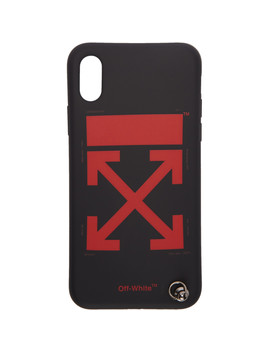 Black Arrows Strap I Phone X Case by Off White