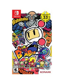 Nintendo Switch by Super Bomberman R