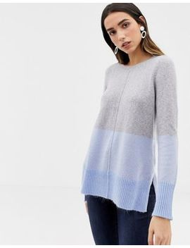 Oasis Color Block Boyfriend Sweater by Oasis