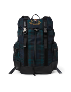 Polo Bear Tartan Backpack by Ralph Lauren