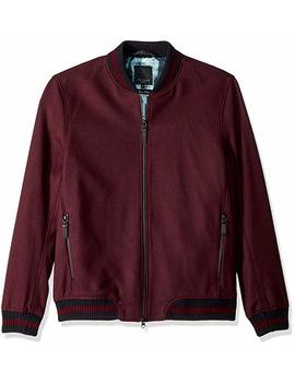 Ted Baker Men's Freddy Modern Slim Fit Wool Bomber Jacket by Ted+Baker