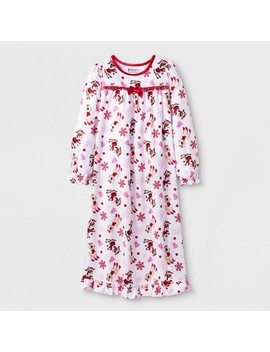 Girls' Rudolph The Red Nosed Reindeer Granny Nightgown   White by Rudolph The Red Nosed Reindeer