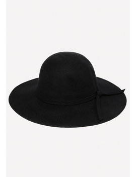 Wool Felt Floppy Hat by Bebe