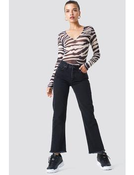 Frayed Hem Jeans by Trendyol