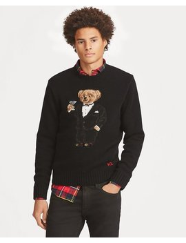 Martini Bear Wool Sweater by Ralph Lauren