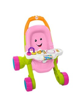 Fisher Price Stroll And Learn Walker   Pink by Fisher Price
