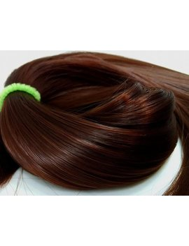 Velma Auburn Brown Nylon Doll Hair Hank For Rerooting For Barbie® Monster High® Ever After High® My Little Pony Fashion Royalty Disney by Etsy